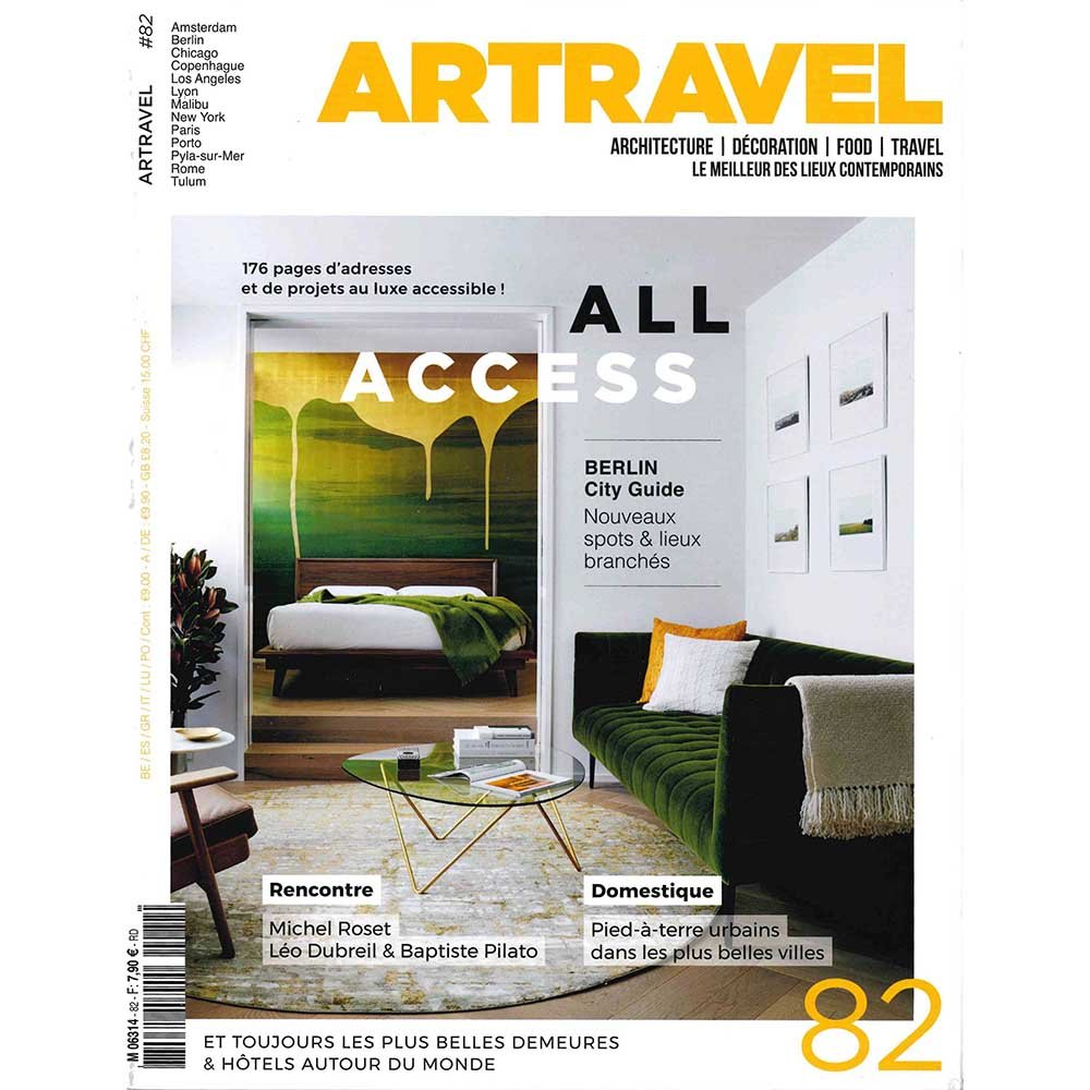 ART TRAVEL HOTEL 4 etoiles stephanie cayet architecture interieure design