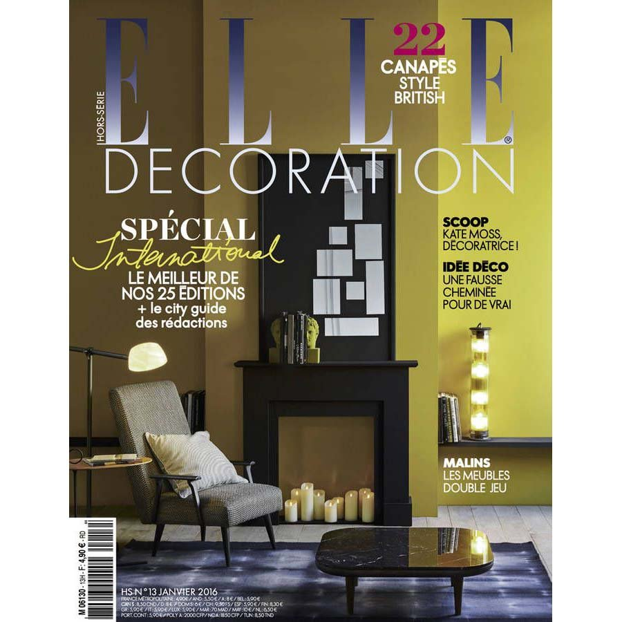 ELLE DECORATION Article HOTEL 4 etoiles stephanie cayet architecture interieure design