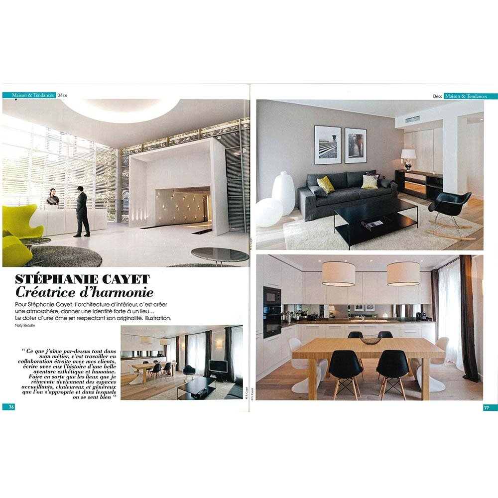 ART DE LA MAISON Article HOTEL 4 etoiles stephanie cayet architecture interieure design